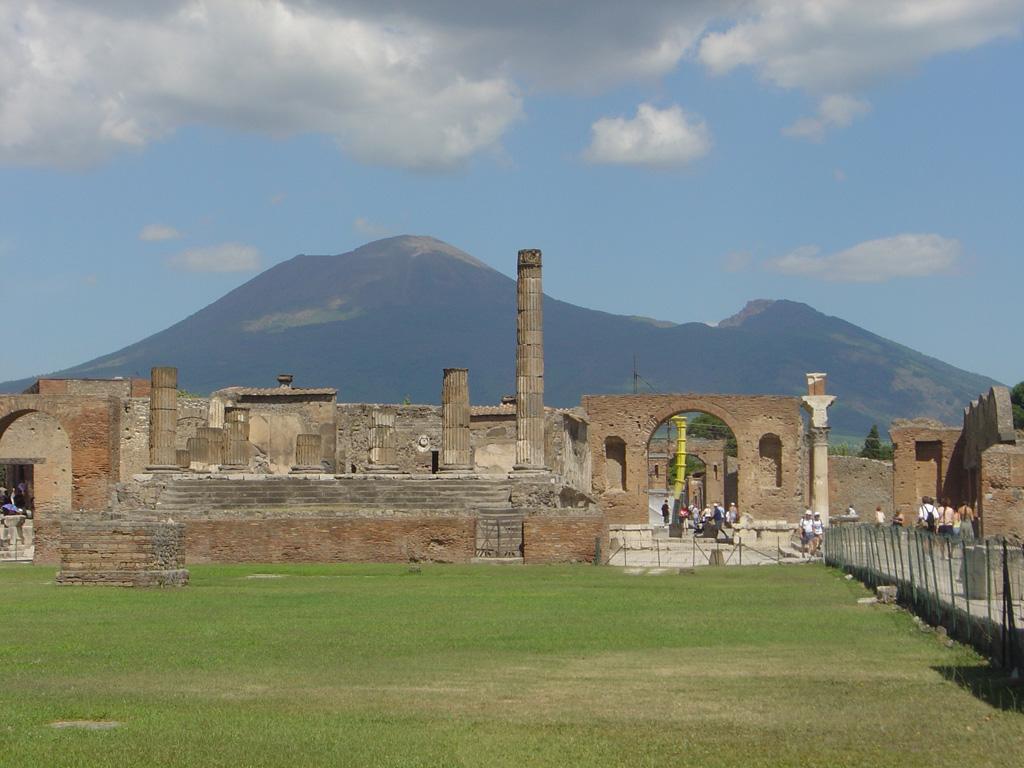 Pompeii Vesuvius Tour From Naples