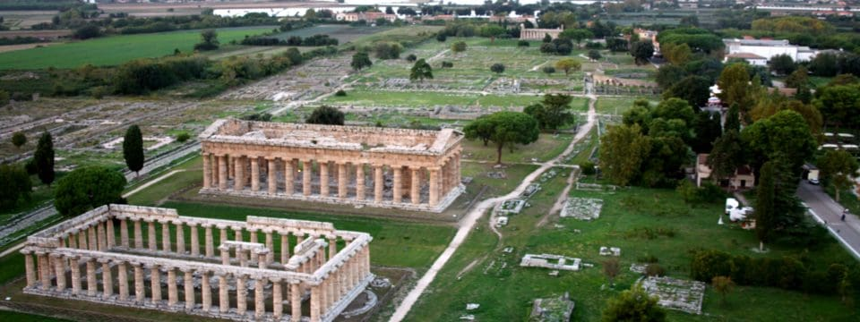 Paestum Greek Temples and Buffalo Mozzarella