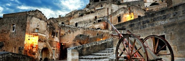 Matera the town of  Rocks